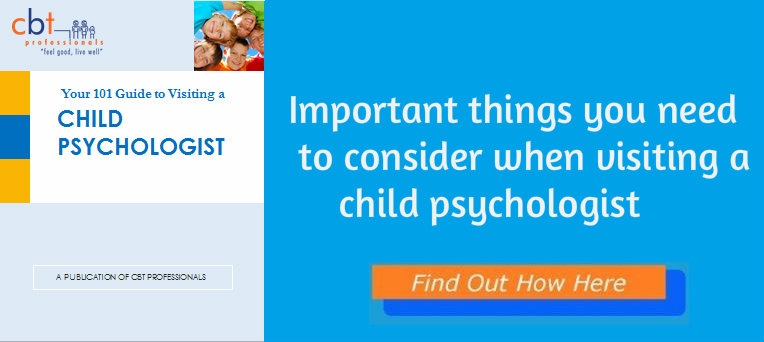 Visiting a Psychologist; Your 101 Guide to Visiting a Psychologist; CBT professionals free child psychologist eBook