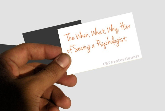 Seeing a Psychologist - The When, What, Why, How
