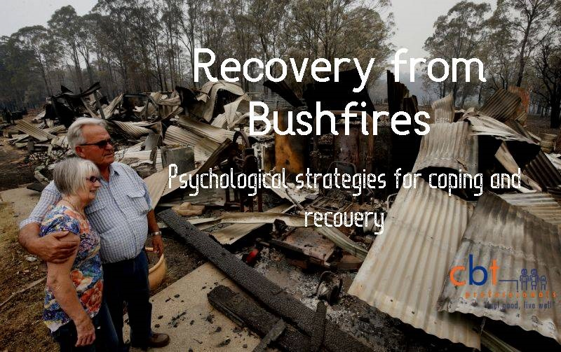 Recovery from Bushfires psychological skills